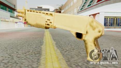 SPAS 12 SA Style para GTA San Andreas segunda pantalla