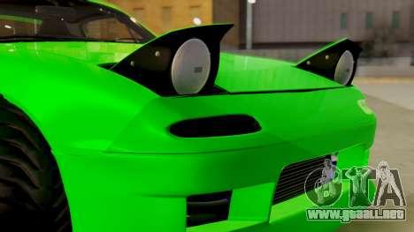 Mazda MX-5 BnSports para vista lateral GTA San Andreas