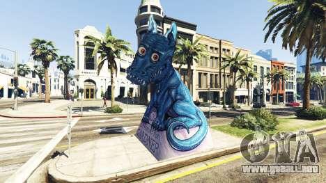 Estatua Del Dragón De La Ilusión para GTA 5