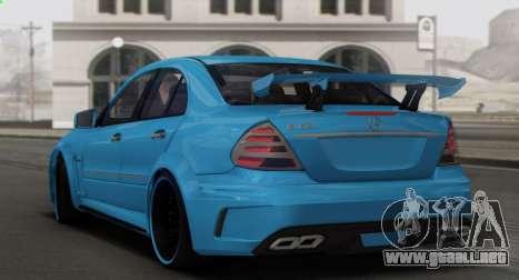 Mercedes-Benz E63 Qart Tuning para el motor de GTA San Andreas