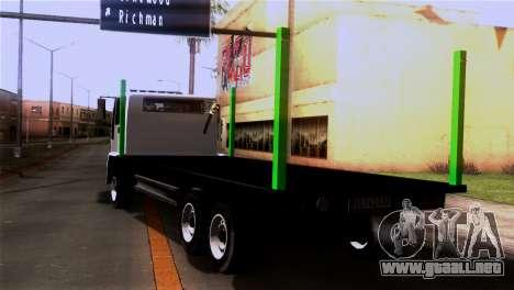 New DFT-30 Wood para GTA San Andreas left