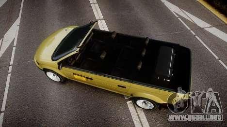 Schyster Cabby LX para GTA 4 visión correcta