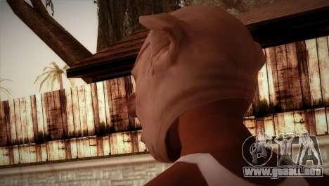 Cerdo Zombie para GTA San Andreas segunda pantalla