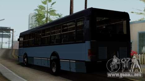 Ikarus 415 para GTA San Andreas left