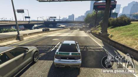 GTA 5 Trampa mortal en la carretera cuarto captura de pantalla