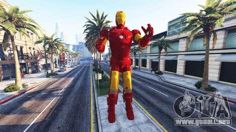 GTA 5 La estatua de iron man