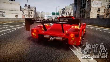 Radical SR8 RX 2011 [16] para GTA 4 Vista posterior izquierda