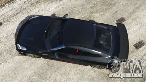 GTA 5 Nissan GT-R Nismo 2015 vista trasera