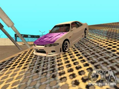 Nissan Skyline R33 Drift Monster Energy JDM para el motor de GTA San Andreas