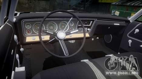 Chevrolet Impala 1967 Custom livery 5 para GTA 4 vista lateral