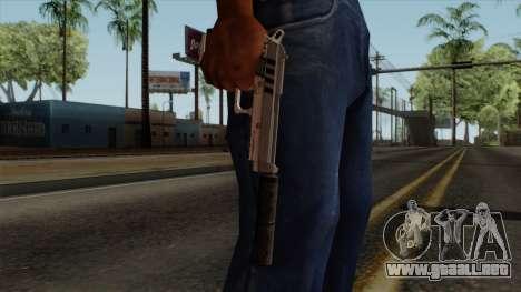 Original HD Silenced Pistol para GTA San Andreas tercera pantalla