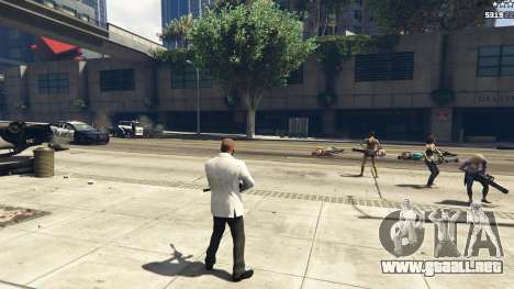 GTA 5 Bodyguard Menu 1.7 octavo captura de pantalla