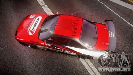 Nissan Silvia S14 Koni para GTA 4 visión correcta