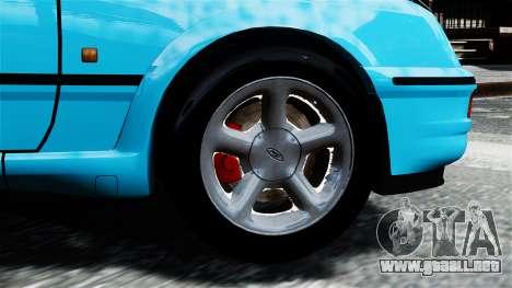 Ford Sierra RS Cosworth v2 para GTA 4 Vista posterior izquierda