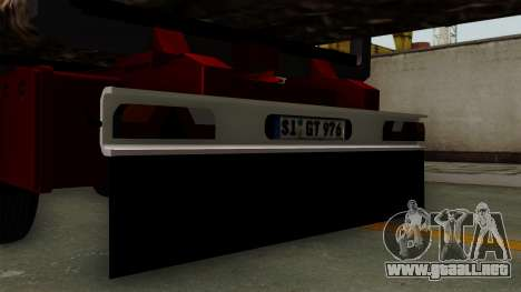 Trailer Fliegl v2 para la visión correcta GTA San Andreas