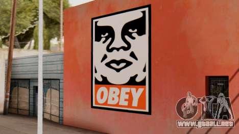OBEY Graffiti para GTA San Andreas