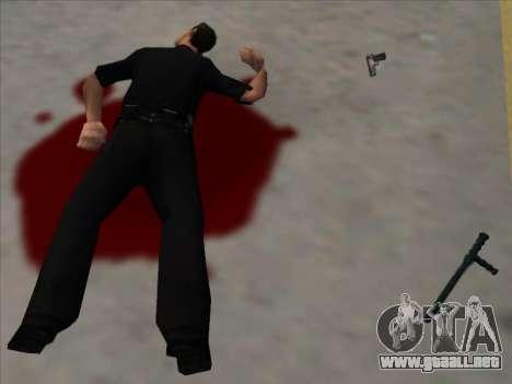 Weapons on the Ground para GTA San Andreas segunda pantalla