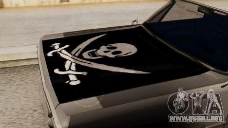 De vinilo para la Sabana - Pirata escudo para la visión correcta GTA San Andreas