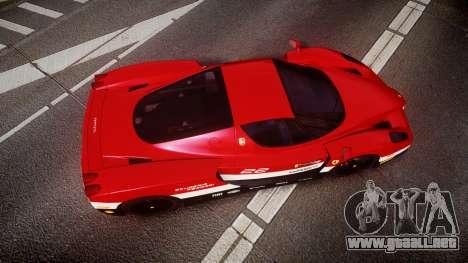 Ferrari Enzo 2002 [EPM] Scuderia Ferrari para GTA 4 visión correcta