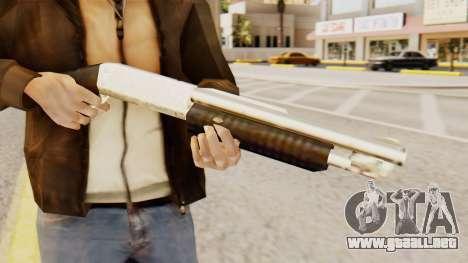 Sangrar original en la acción de la bomba escope para GTA San Andreas tercera pantalla