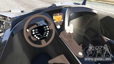 GTA 5 KTM X-Bow [Beta2] vista lateral trasera derecha