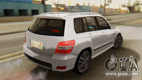 Mercedes-Benz GLK320 2012 para GTA San Andreas left