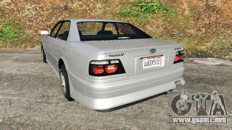 GTA 5 Toyota Chaser 1999 v0.3 vista lateral izquierda trasera
