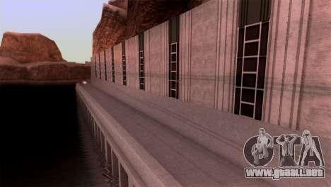 Vintage Texture para GTA San Andreas segunda pantalla