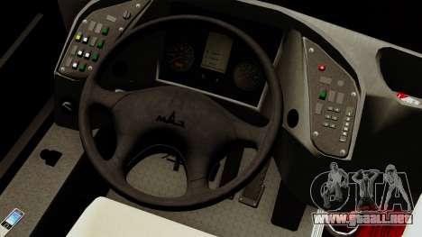 MAZ 226.065 para GTA San Andreas vista hacia atrás