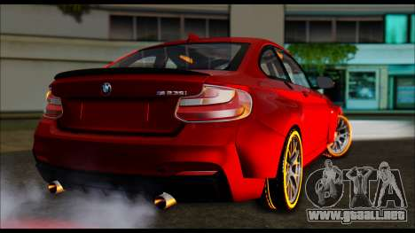 BMW 235i F22 para GTA San Andreas left