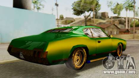 New Sabre Devil para GTA San Andreas left