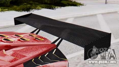 Pegassi Zentorno SM GT3 para la visión correcta GTA San Andreas
