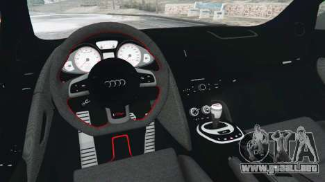 GTA 5 Audi R8 GT 2011 v0.5 [Beta] vista lateral derecha