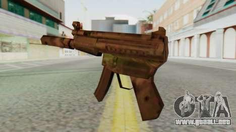 MP5K Silenced SA Style para GTA San Andreas segunda pantalla