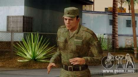 El ordinario moderno ejército ruso para GTA San Andreas