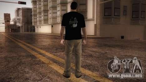Bowling Player para GTA San Andreas tercera pantalla