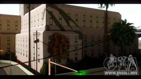 El Hospital y el Parque de skate para GTA San Andreas sucesivamente de pantalla