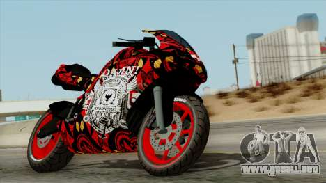 Bati Batik Motorcycle v2 para GTA San Andreas