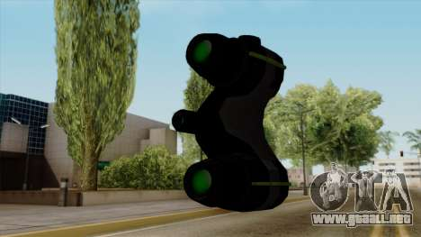 Original HD Thermal Goggles para GTA San Andreas tercera pantalla