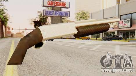 Sangrar original en la acción de la bomba escope para GTA San Andreas segunda pantalla