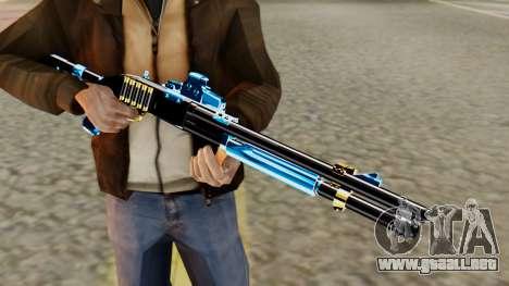 Fulmicotone Chromegun para GTA San Andreas tercera pantalla