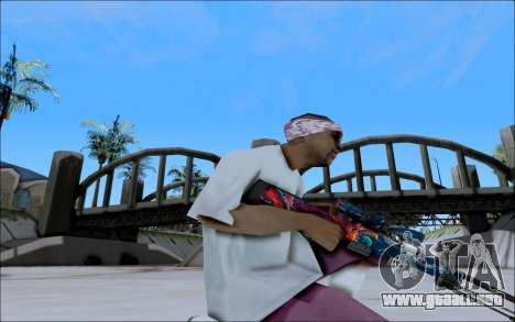 AWP Hyper Beast para GTA San Andreas tercera pantalla
