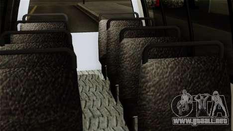 Fly Us Airport Bus para la visión correcta GTA San Andreas