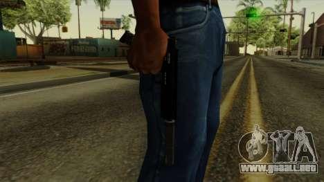 AP Pistol with Supressor para GTA San Andreas tercera pantalla