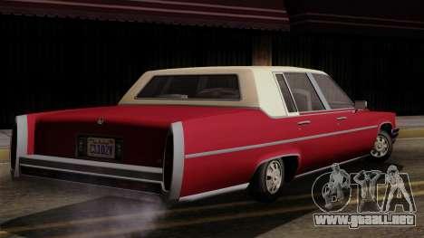 GTA 5 Albany Emperor IVF para GTA San Andreas left