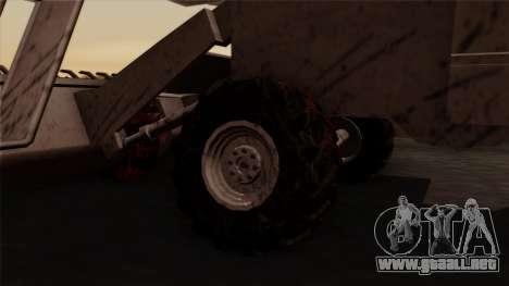 GTA 5 Combine para GTA San Andreas vista posterior izquierda