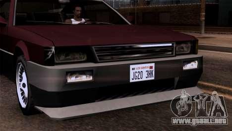 Nuevos faros delanteros para GTA San Andreas tercera pantalla