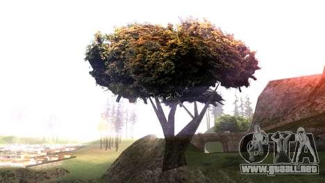 Vegetation Original Quality v3 para GTA San Andreas segunda pantalla