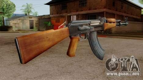 Original HD AK-47 para GTA San Andreas tercera pantalla