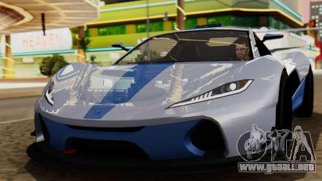 Progen T20 GTR para GTA San Andreas